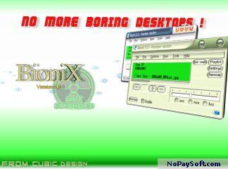BioniX Wallpaper 4.60 program screenshot