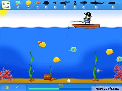 Crazy Fishing 3.1 program screenshot