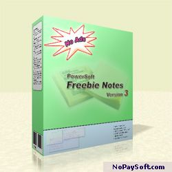 Freebie Notes 3.07 program screenshot