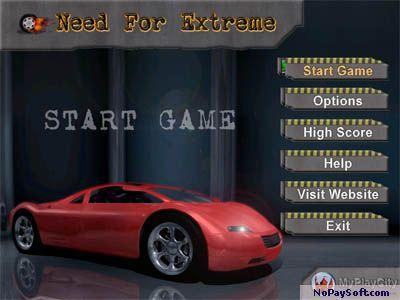 Need For Extreme 3.1 program screenshot