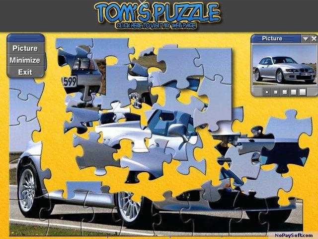 Jigs@w Puzzle Promo Creator 2.00 program screenshot