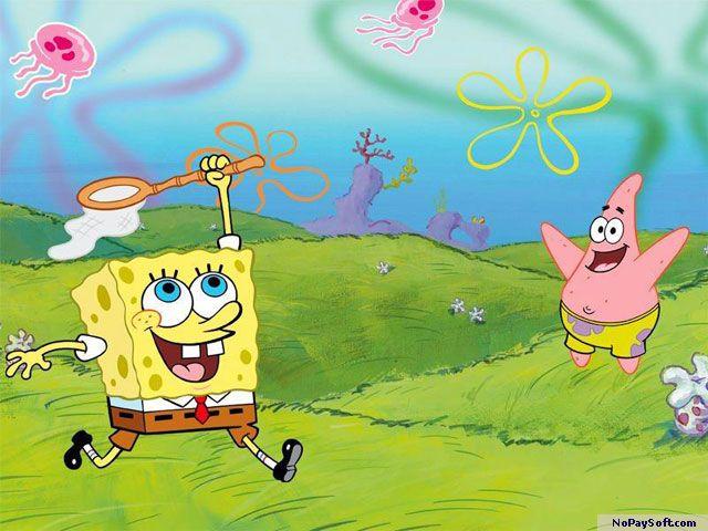 Free SpongeBob Screensaver 1.0 program screenshot