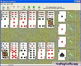 1st Free Solitaire 1.7.1 program screenshot