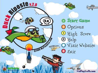 Duck Riposte 3.0 program screenshot