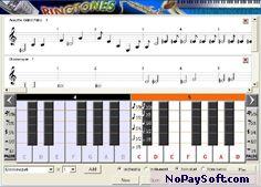 Make Free Midi Ringtones 1.01 program screenshot