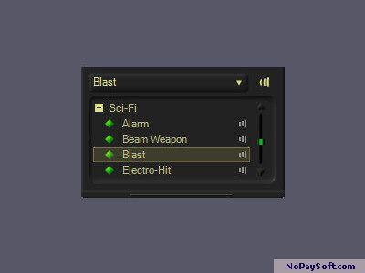 Sci-Fi Sounds - MorphVOX Add-on 1.0 program screenshot