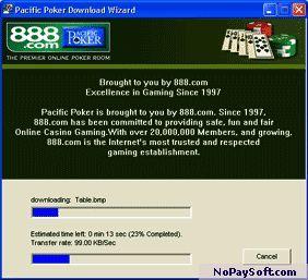 Pacific Poker 2006.0.5 program screenshot
