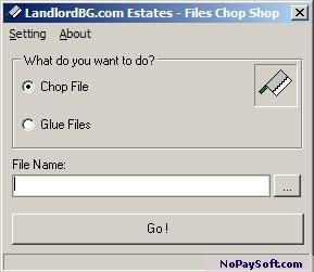 LandlordBG.com Estates - Files Chop Shop 1.0 program screenshot