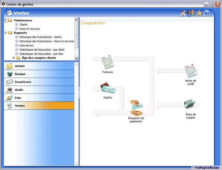 Dynacom Accounting Startup Edition 10.0 program screenshot