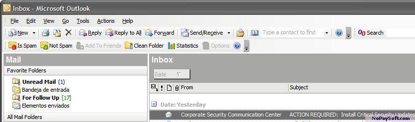 Matador Spam Fighter 1.0.0 program screenshot