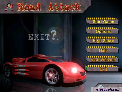 Road Attack Online 3.0 program screenshot