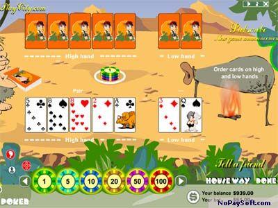 Brontosaur Poker 2.0 program screenshot