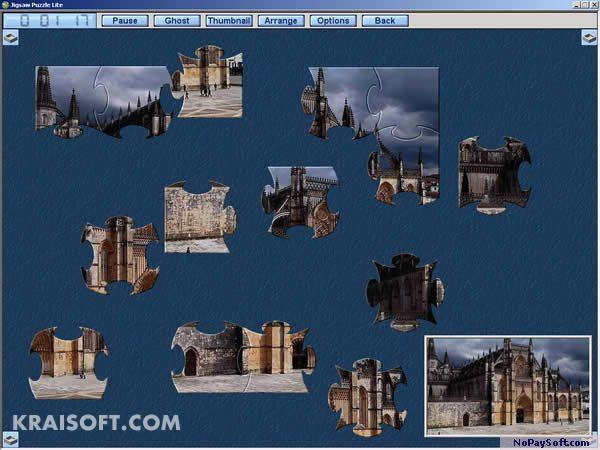 Jigsaw Puzzle Lite 1.6.9 program screenshot