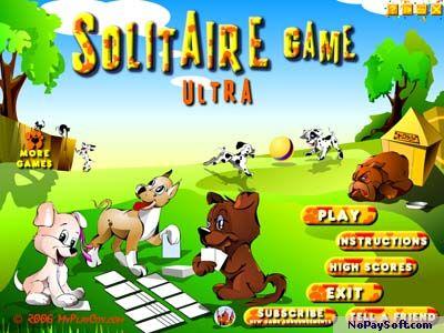 Solitaire Game Ultra 2.0 program screenshot