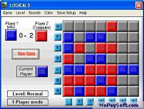 Logical 5 Board Game 1.0.12 program screenshot