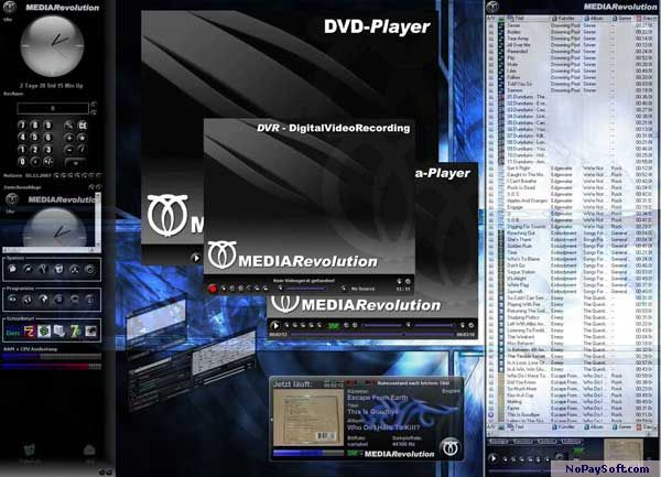 MEDIA Revolution 1.0.2 program screenshot