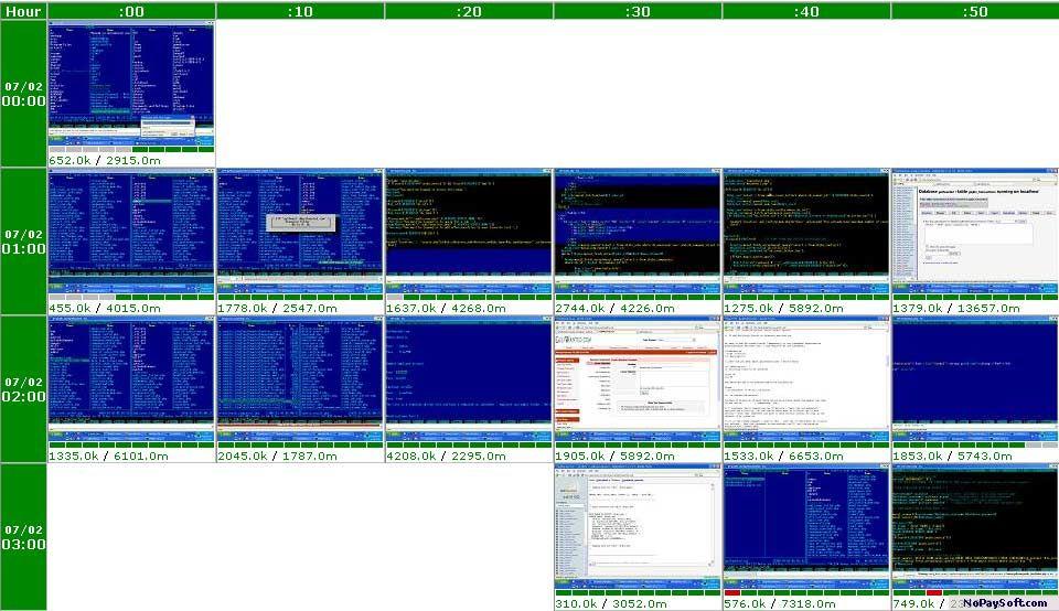 ITWorkTimer 1.1 program screenshot