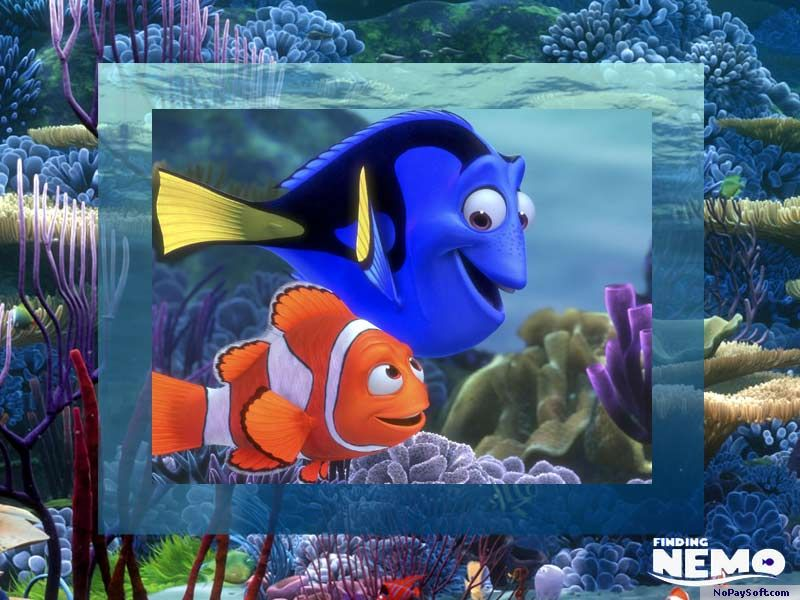 Finding Nemo Movie Screensaver 1.0 program screenshot
