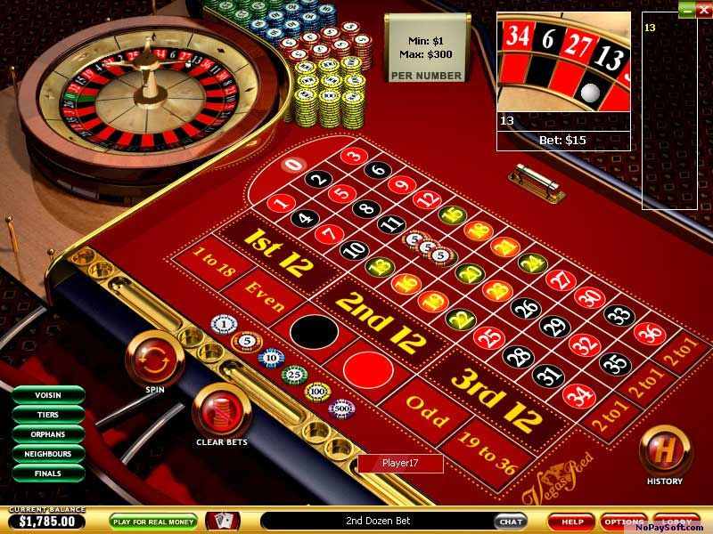 Vegas Red Casino 6.0 program screenshot