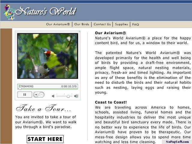 Bird Cages / Aviary Designer 2005 program screenshot