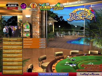 Casino Del Rio 9.4 program screenshot