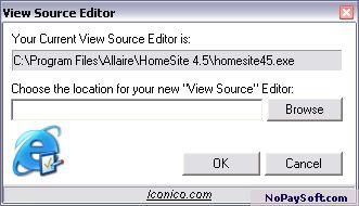 View Source Editor 1.0 program screenshot