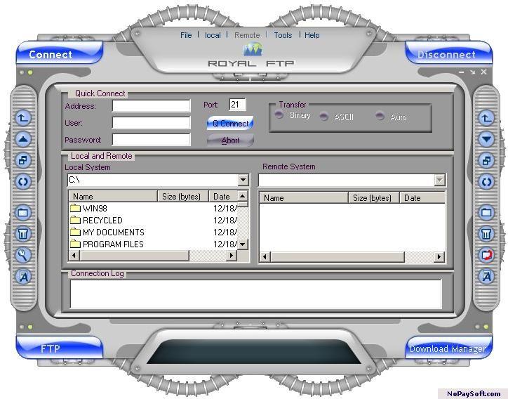 RoyalFTp 2.0.0.0 program screenshot