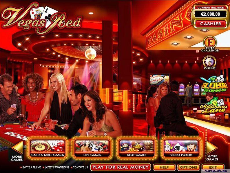 Casino Vegas Red 6.9 program screenshot