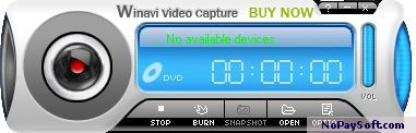 WinAVI Video Capture 2.0 program screenshot