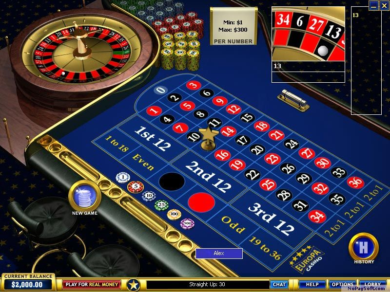 Europa Casino 6.0 program screenshot